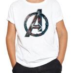 Avengers logo bela
