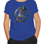 Avengers logo plava
